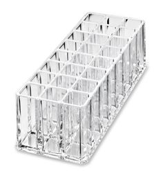 ABOUT THIS PRODUCT   This Premium Acrylic Lip Gloss Organizer Comes With 24 Individual Spaces For Storing Standard Sized Lip Glosses.SIZE: 8.6L x 3.5W x 3H Inches w/.85 Inch Inner Cubes.SHIPPING: Enjoy FREE Shipping On Orders Over $35. Most Items Shipped Within 24 Hours. International Customers Please Visit Your Local amazon Site For Available Local byAlegory Product Delivery. FOLLOW US: Hashtag Your #byAlegory Photos To Be Featured And Follow Us On IG, FB & Twitter. PRODUCT BACK...