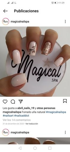Beauty Nails, Hair Beauty, Cute Nails, Nail Ideas, Make Up, French, Finger Nails, Ideas, Polish Nails