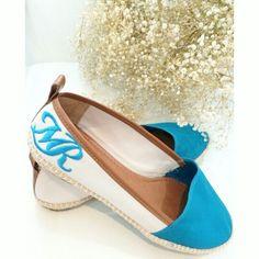 Alpargata Lona Cru w/ Bordado MR ▪ Cor Turquesa | Morena Rosa Shoes ♡     ••》Whatsapp 43 9148-2241  ☎  43 3254-5125.    Rua Rio Grande do Norte, 19 Centro - Cambé-Pr  #venhaseapaixonar #fashionistando #carolcamilamodas #instafashion #euqueroo #lifestyle #confortável #workfashion #modaparameninas #trabalharcomestilo #desejododia #musthave #shoesfashion #shoes #mrshoes #morenarosashoes #summerlovers #news #trend
