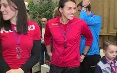 VIDEO Trei trofee dintr-un foc, pentru Cristina Neagu. Care e cel mai important Mai, Athletic, Sport, Jackets, Fashion, Manish, Down Jackets, Moda, Deporte