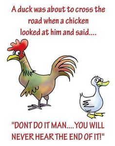 Chicken Joke Pictures, Photos, and Images for Facebook, Tumblr, Pinterest, and Twitter