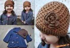 HÁČKOVÁNÍ - Zimní čepice s plastickým vzorem Crochet Hats, Fashion, Moda, La Mode, Fasion, Fashion Models, Trendy Fashion