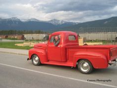 Ford Truck Enthusiasts old red