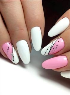 54 Simple Spring Nail Designs for Short Nails and Long Nails - The First-Hand Fashion News for Females Short Nail Designs, Nail Designs Spring, Simple Nail Designs, Beautiful Nail Designs, Nail Art Designs, Fancy Nails, Cute Nails, Pretty Nails, Nagellack Design