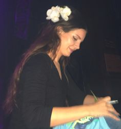 Lana Del Rey performing at House of Blues in Anaheim #LDR
