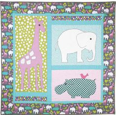 Happy New Year to all, and welcome to the 43rd Free Pattern Day at Quilt Inspiration!!! We love baby and toddler quilts, and we're sharing...