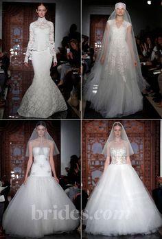 Reem Acra Wedding Dresses   Fall 2013 | Bridal Runway Shows | Wedding Dresses And Style | Brides.com   | Wedding Dresses Style