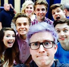 troye's face