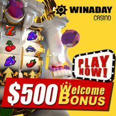 Claim Sweet Win A Day US Online Casino Bonuses. Best VIP Win A Day US Online & Mobile Slots Casino No Deposit Bonus Coupon Codes. Play Real Money Slots Free