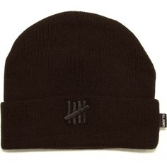 64be5bd0a34 Undefeated 5 Strike Combat Beanie (Black)  19.95