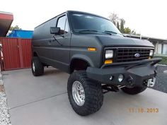 now that's a bad ass van