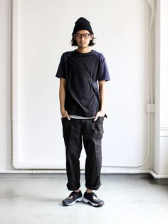 Man Fashion, Fashion Outfits, Style Men, My Style, Fashion Lookbook, Gentleman, Joggers, Normcore, Japanese