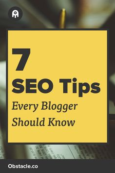 Too busy focusing on creating awesome content to worry about SEO for your blog? No worries, just keep these 7 things in mind and you'll be good. Marketing Tools, Media Marketing, Online Marketing, Seo Guide, Seo For Beginners, Power Of Social Media, Social Entrepreneurship, Search Engine Marketing, Blogger Tips