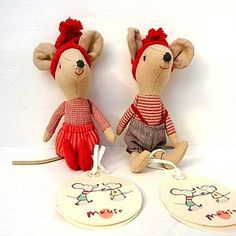 Maileg Christmas Mice - baby  child sale