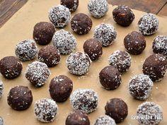 Egészséges csokigolyók - Receptek | Ízes Élet - Gasztronómia a mindennapokra