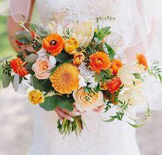 Gorgeous orange bouquet