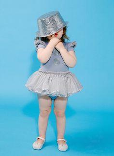 Rock Your Baby Gold Dot Baby Circus Dress