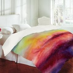 tye dye bedding