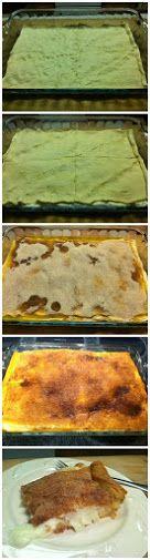 Crescent Roll Cheesecake Squares Recipe