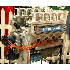 Weslake 327 CID Plymouth Indy Car - Museum of American Speed  Follow me: http://www.pinterest.com/OaklandMuscle/