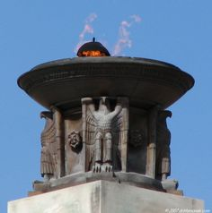 Peace Light Memorial at Gettysburg Nat'l Military Park in Gettysburg, Pennsylvania by Lee Oskar Lawrie, Paul Cret