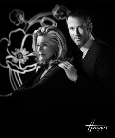 Christian Vadim and his mother Catherine Deneuve