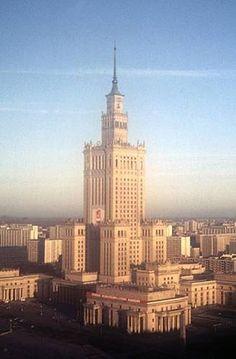 "Stalin's Seven Sisters (7 in Moskow and more: 1 in Warsaw, in Riga, in Prag and in Kiev, ""presents from Josef Stalin"")"