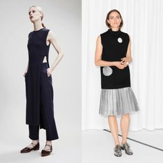 Tabards & tunics over ankle length trs or mid-calf skirts [DTF]