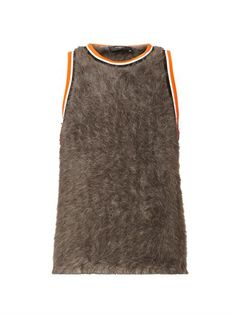 Angora basketball vest top | Givenchy | MATCHESFASHION.COM