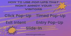 Looking for ways to build email list building consistently? Pop-ups are often annoying, but used the right way can get you high-quality leads. LEARN 5 ways to use pop-ups that won't frustrate your visotors. Marketing Branding, Content Marketing Strategy, Blog Post Template, Pop Up Ads, Branding Ideas, Email List, Annoyed, Tools, Learning