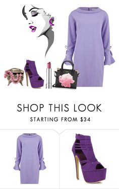 """Untitled #2994"" by empathetic ❤ liked on Polyvore featuring Gina Bacconi, Fahrenheit and Calvin Klein"