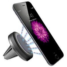 Nur 5,79€ - 360-Universal-Handy-Magnet-Halterung-Auto-KFZ-PKW-LKW-Lueftung-iPhone-Samsung
