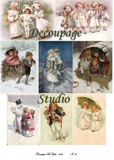 Decoupage papírok - Decoupage Art StudioDecoupage Art Studio