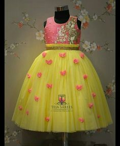20 Ideas For Birthday Outfit For School Awesome Kids Party Wear Dresses, Kids Dress Wear, Kids Gown, Baby Girl Dresses, Flower Girl Dresses, Kids Wear, Birthday Girl Dress, Birthday Dresses, Lehanga For Kids