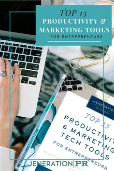 Get instant access to our FREE Resource Guide for the Top 15 Tech Tools for Marketing & Productivity so you can save time and make more money!