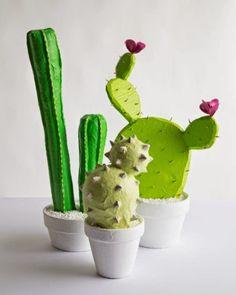 O Portal do Tutorial: Tutorial Cactus de Papel Machê