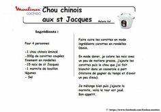 CHOU CHINOIS AUX ST JACQUES