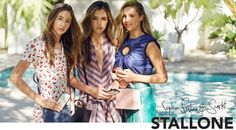 The Stallone Sisters Campaign For The Daily Edited Latest Collection Celebrity Fashion Outfit Trends And Beauty Tips