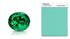 Tsavorite garnets come from Kenya's Tsavo National Park – home to elephants, lions, giraffes, and other wildlife. Its bewitching hue has made it sought-after and expensive. Courtesy of Michael Couch & Associates, West Des Moines, Iowa.
