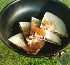 Recept på stekta enchilladas med bönfyllning - Utsidan