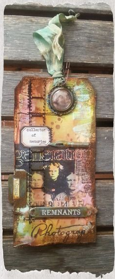 Look in the box: Tim Holtz: 12 tags of 2014 - August