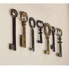 keys on a wall