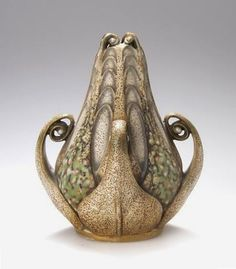 The Artichoke by Paul Dachsel  Bohemia ( post Amphora ), circa 1906