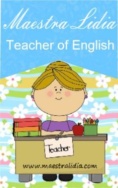 English Resources, English Lessons, Learn English, Grammar And Vocabulary, Primary School, Teaching English, Family Guy, Clip Art, Teacher