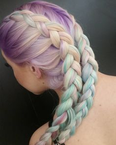 Beautiful Boxer Braids and Pigtails Styles to Try Now
