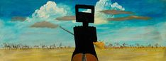 The Ned Kelly series Sidney Nolan Aboriginal Culture, Aboriginal Artists, Australian Painting, Australian Artists, Sidney Nolan, Ned Kelly, House Painter, Royal Academy Of Arts, Indigenous Art