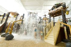 interactief water speeltuin