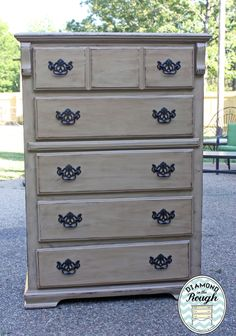 How to antique furniture using Websters !