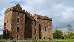 Huntingtower Castle once known as Ruthven Castle, Perth, Scotland