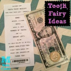 Fair warning – seriously cuteness ahead! One night I was checking out the various free tooth fairy receipts on…